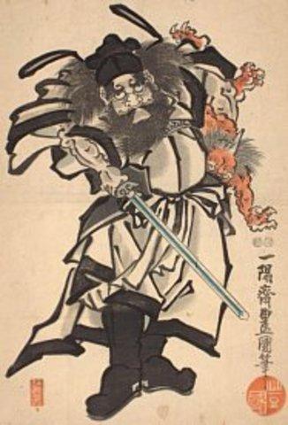 Shoki the Demon Queller