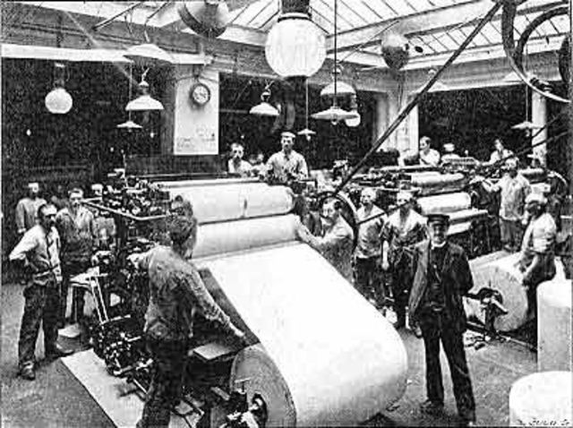 PRINTING PRESS FOR PRODUCTION