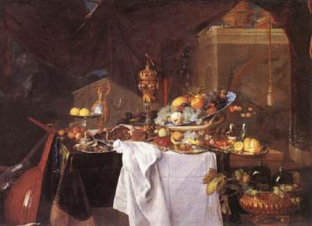 Table of Desserts