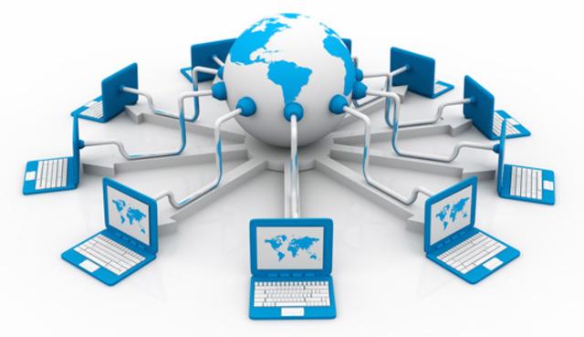 A  década de 1980 foi marcada pelo início do uso das redes de computadores.