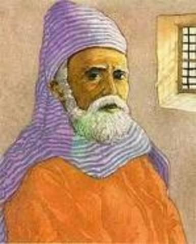 Naixement d'Anselm Turmeda (1355-1423)