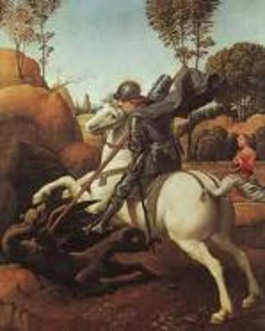 Mort de Sant Jordi