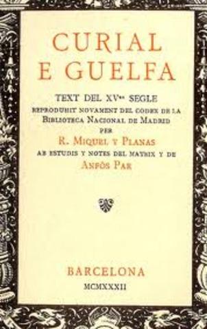 Inici de la realització anònima Curial e Güelfa