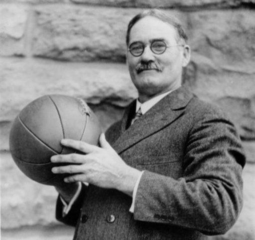 James Naismith invents Basketball