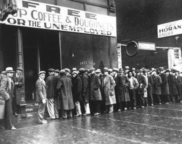 Great Depression starts
