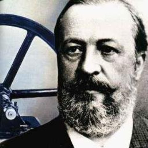 German Nikolaus August Otto creates the four-cycle internal combustion engine