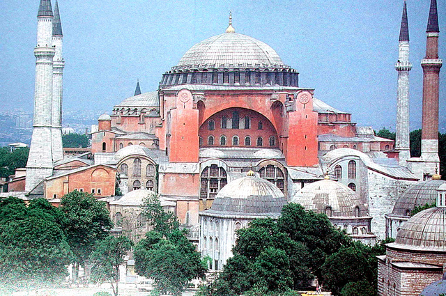 534 AD Construction of Hagia Sophia