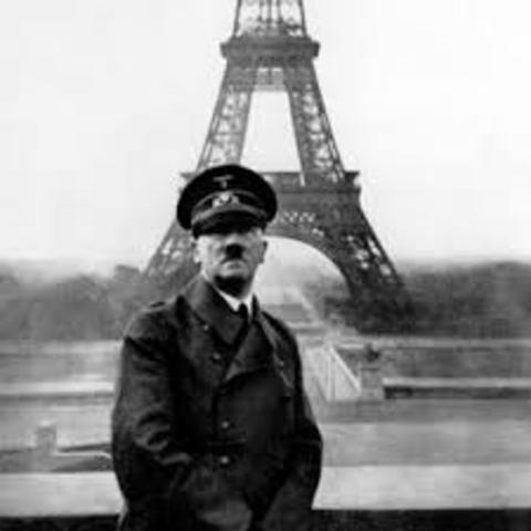 Entrée des Allemands à Paris
