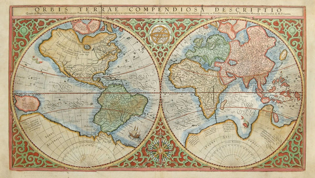 The First North Pole Map