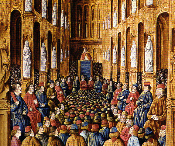 Pope Urban II, at the Council of Clermont