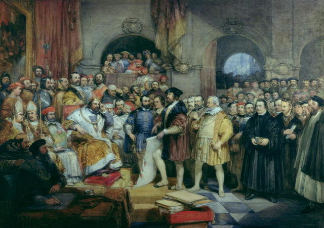 Diet of Speyer – Lutheranism outlawed