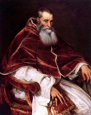 Pope Paul III recognizes the Jesuit Order The Society of Jesus
