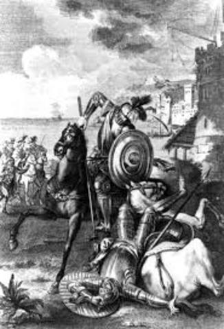 Derrota de don Quijote