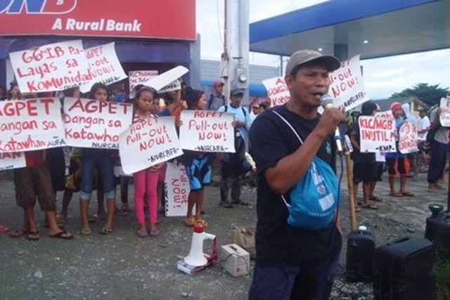 Peasant leader & anti-mining activist Jimmy Saypan (Compostela Valley))