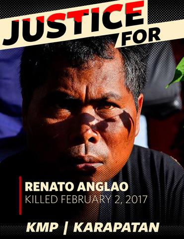 Lumad leader Renato Anglao (Bukdinon)