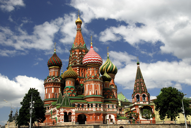Creation Of St. Basil's Cathedral