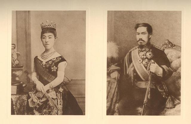 Emperor Meiji gets married