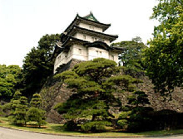 Edo Castle gets destroyed