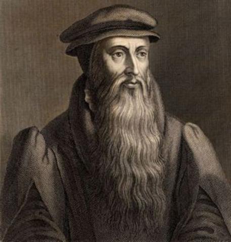John Knox Leading the Scottish Reformation