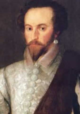 Sir Walter Raleigh Discovers Virginia