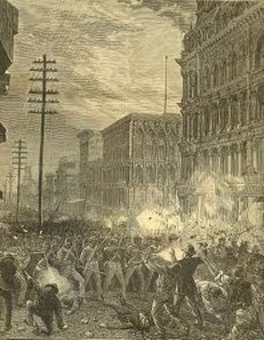 The Great strike of 1877