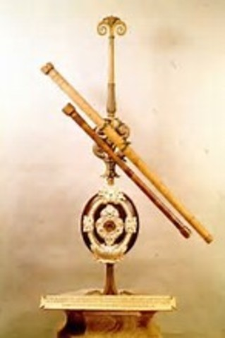 Galileo Constructed 1st Astronomical Telescope