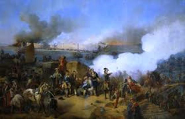 Swedish Army Defeated