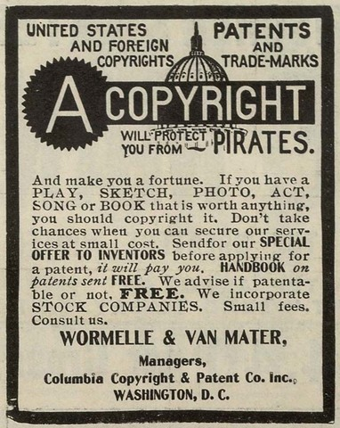 1st Copyright Law Enacted by Massachusetts
