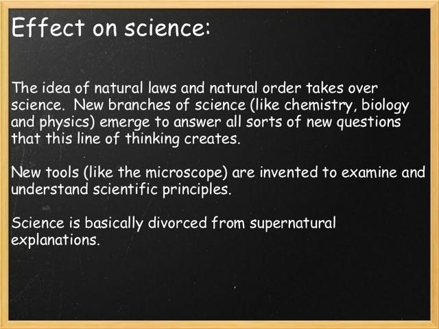 Isaac Newton Creates Natural Laws