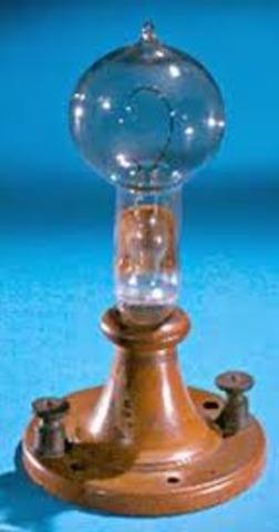 Thomas Edison invented the incandescent