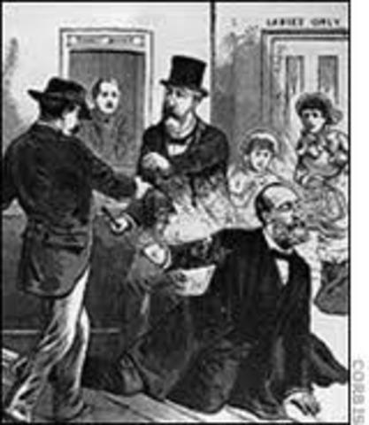 President Garfield was shot