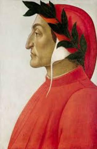 Dante Alighieri Born in Florence
