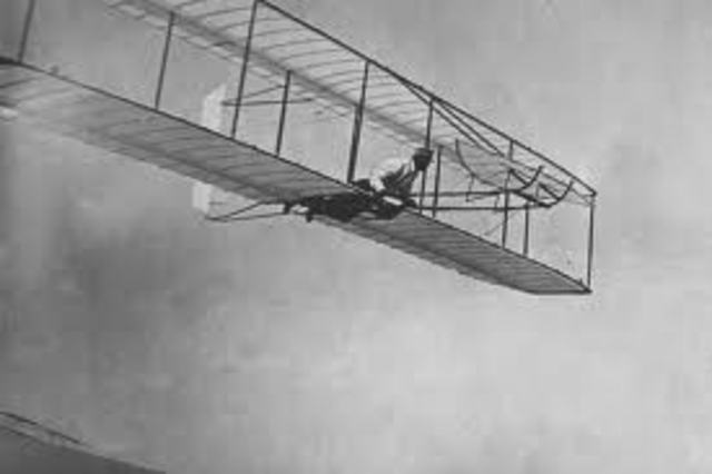 The first powered flyer
