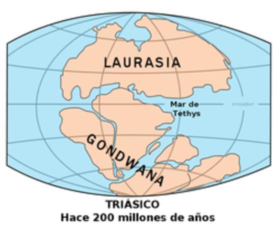 Extinción masiva del Triásico - Jurásico