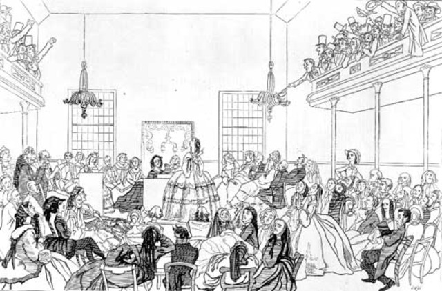 First Women's Right Convemtion held in Seneca Falls, New York