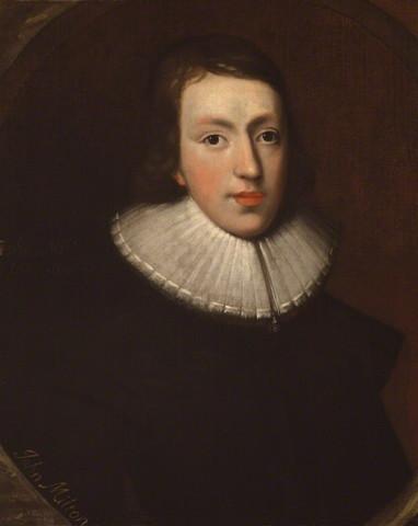"John Milton Writes ""Paradise Lost"""