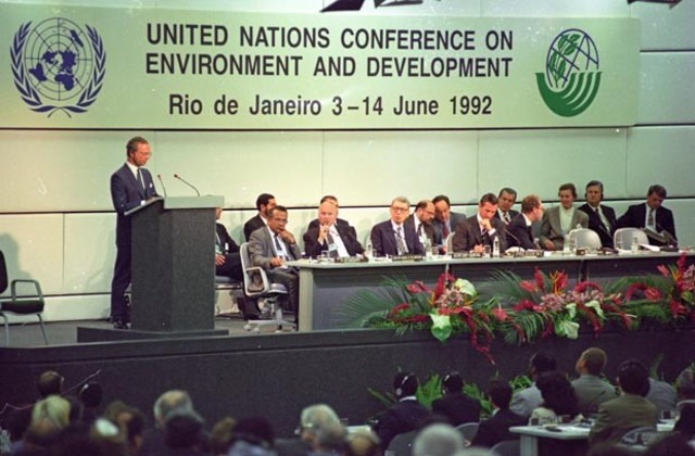 Conferência das Nações Unidas sobre Meio Ambiente e Desenvolvimento (CNUMAD)- ECO-92