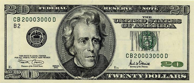 Twenty Dollar Bill