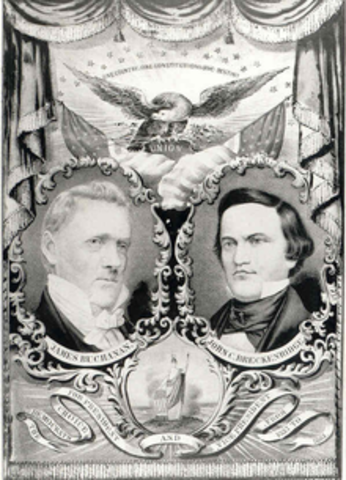 Old Buck Vs. The Pathfinder (Election of 1856)