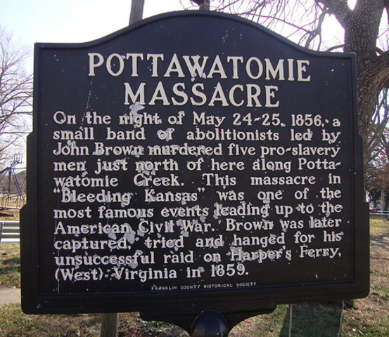 Pottawatomie Creek Massacre (part of Bleeding Kansas)