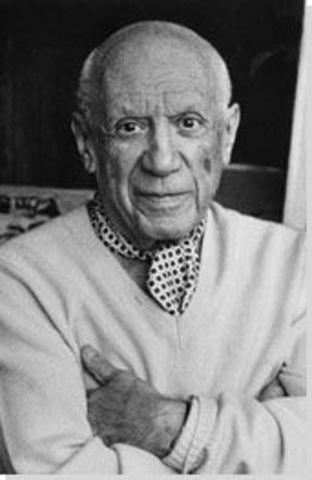Picasso Born in Malaga