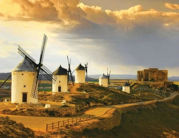 La batalla contra los molinos de viento