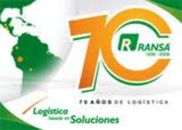 Funda RANSA, empresa logística..