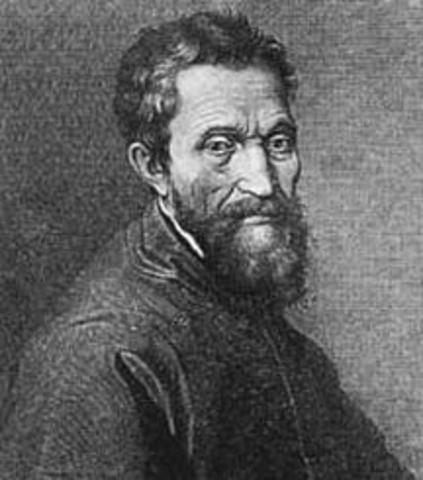 Death of Michelangelo