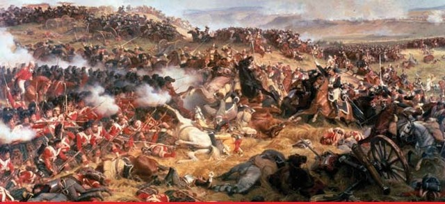 British and Prussians defeat napoleon