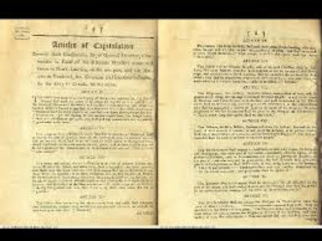 Articles of Capitualition