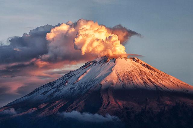 El Popocatépetl