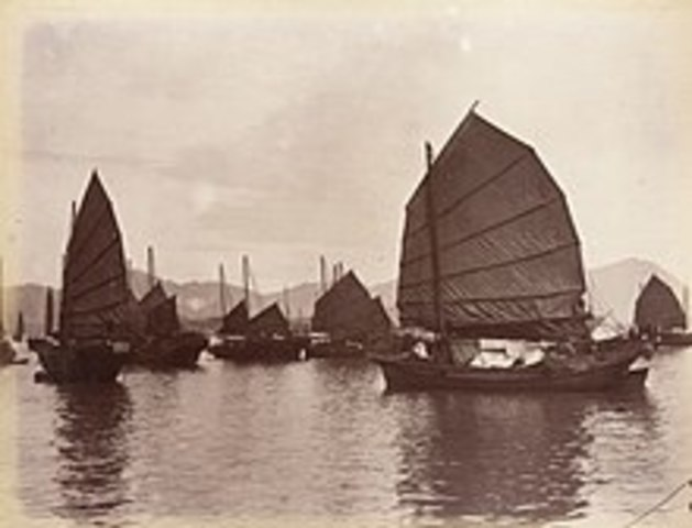 First opium war starts (1839 – 1842)