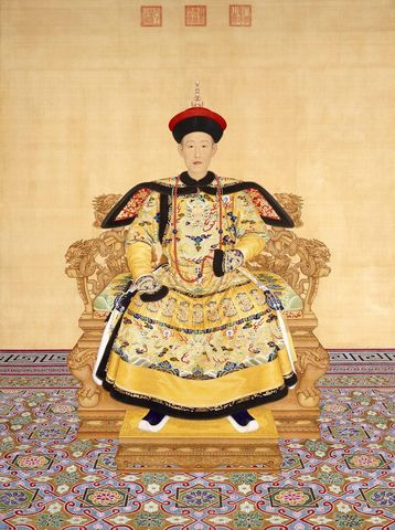 Emperor Jiaqing tries to band opium trade