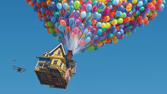 Wall-e, Up, Monsters University, Inside Out, Valiente.